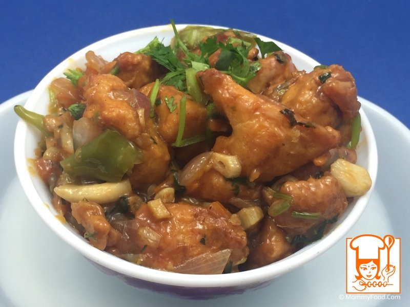 Homemade Chicken Manchurian