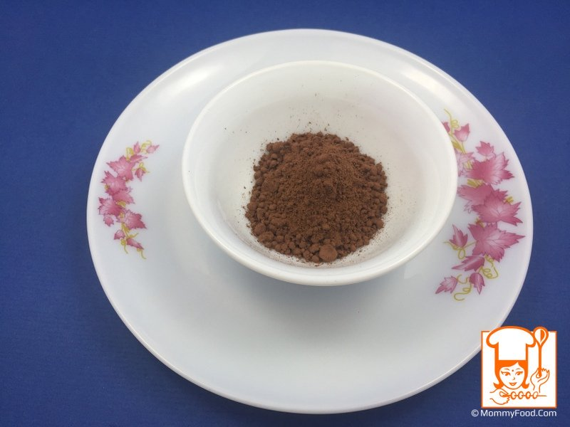 Cocoa powder: 2 tbsp or as required