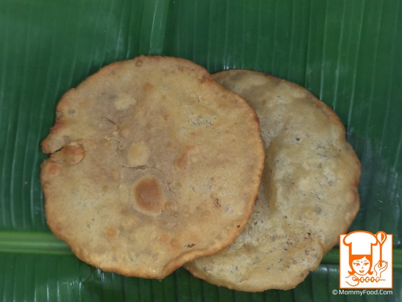 1  stuffed sweet poori