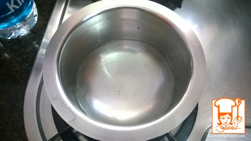 Step 1: Boil 200 ml water
