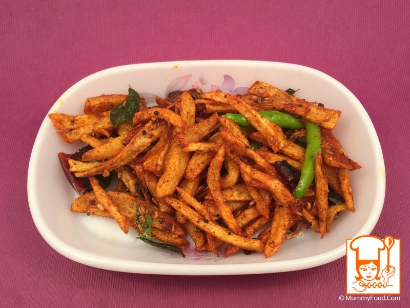 french fries curry
