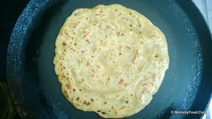 how to prepare sweet wheat dosa