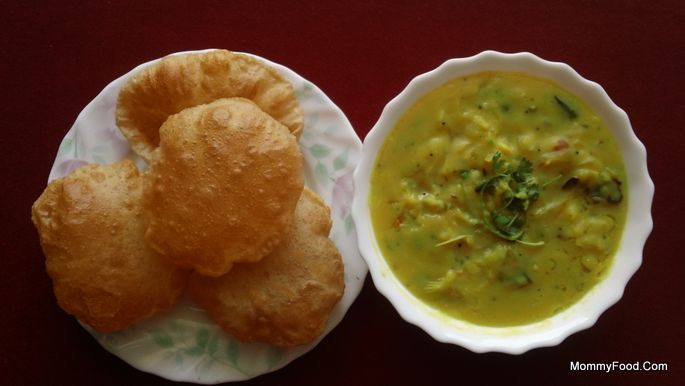 Poori Curry Aloo Curry For ...